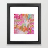 Melon Mirage Framed Art Print