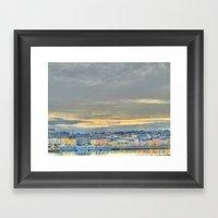 Waterford City Framed Art Print