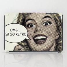 OMG!, I'm so Retro iPad Case
