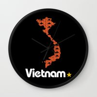 Vietnam, Come For Peace Wall Clock