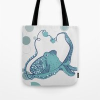 Octopus ! Tote Bag