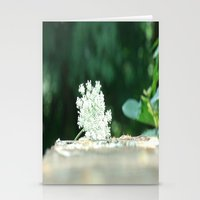 Queen Anne's Lace W/ Bok… Stationery Cards