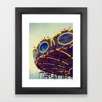 Blue Hour At The Carniva… Framed Art Print