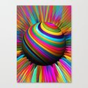a world of color Canvas Print