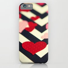 Chevron and Hearts iPhone 6 Slim Case