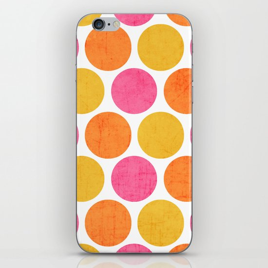 summer polka dots iPhone & iPod Skin
