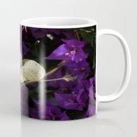 A Heart of Gold Leaf of Morning Glory Mug