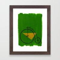 confidant III. (penny-farthing) Framed Art Print