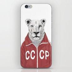 Soviet lion iPhone & iPod Skin
