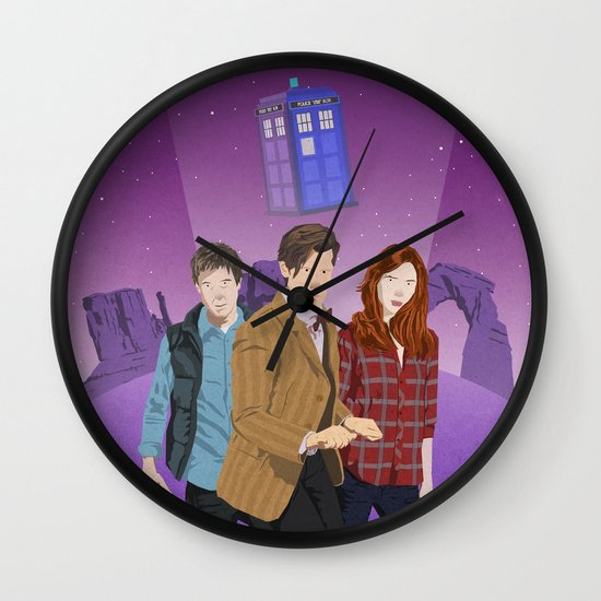 The Power of Three Wall Clock