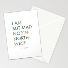 Shakespeare - Hamlet - I Am But Mad North-North-West Stationery Cards