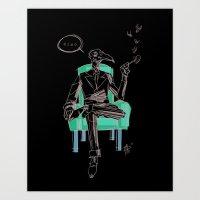 Birdman (Ciao) Art Print