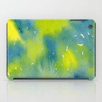 Vibrant sunshine tree top iPad Case