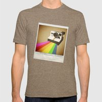 Focus Fondly Mens Fitted Tee Tri-Coffee SMALL