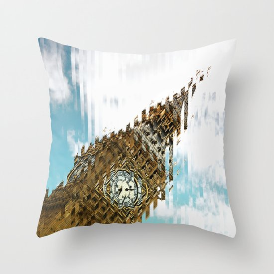 The Big one. Throw Pillow