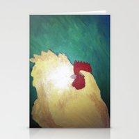 Hen. Stationery Cards