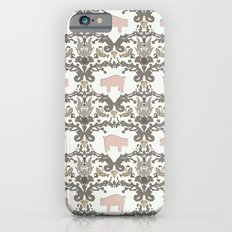 pig damask iPhone 6s Slim Case