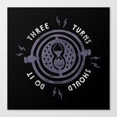 Three Turns Canvas Print