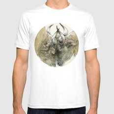 Vis-à-Vis SMALL Mens Fitted Tee White