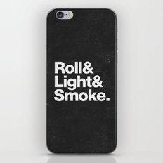 Smoke iPhone & iPod Skin