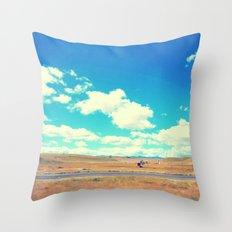 California Central Valley Throw Pillow
