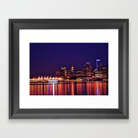 This City, These Streets Framed Art Print
