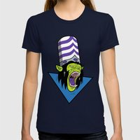Evil Mojo Womens Fitted Tee Navy SMALL
