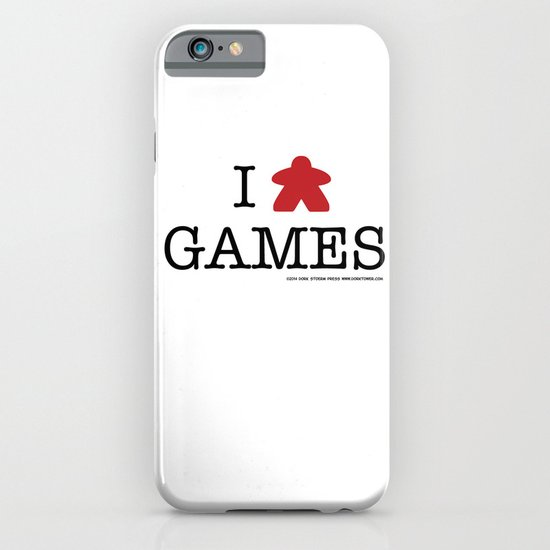 I Meeple Games iPhone & iPod Case