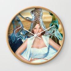 Squid School Wall Clock