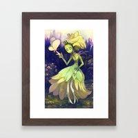 In The Garden Framed Art Print
