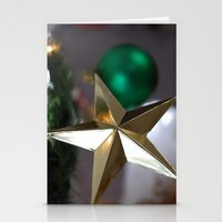 Holiday Star Stationery Cards