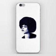Angela Davis iPhone & iPod Skin