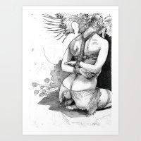 Bound In Detail Art Print