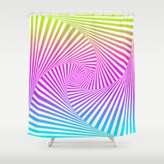 Summer Twista 3 Shower Curtain