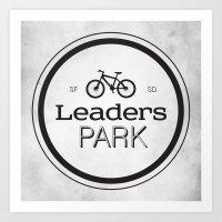 Leaders Park Art Print