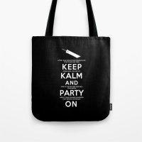 Final Fantasy 7: Keep Kalm Tote Bag