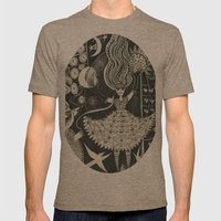 Little Goddess Mens Fitted Tee Tri-Coffee SMALL