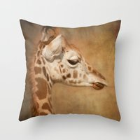 Beautiful Baby Throw Pillow