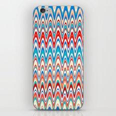 Making Waves Beach Towel iPhone & iPod Skin