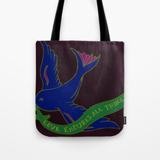 Love Banner Tote Bag