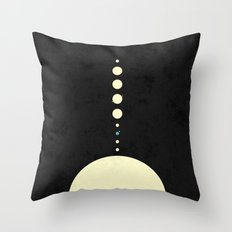 HOME IN THE SOLAR SYSTEM Throw Pillow