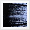 Gray Refraction Art Print