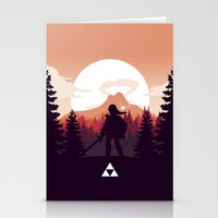 The Legend of Zelda - Orange Version Stationery Cards