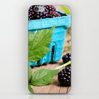 Blackberries iPhone & iPod Skin