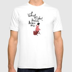 What Might Have Been Me Mens Fitted Tee SMALL White