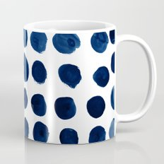 Blue Dots Mug