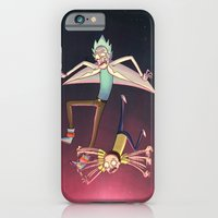 Rick And Morty - Pink Gr… iPhone 6 Slim Case