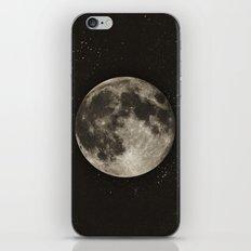 The Moon  [Sans Type] iPhone & iPod Skin