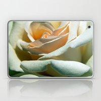 Rose White Laptop & iPad Skin