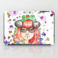 Miss Frog iPad Case